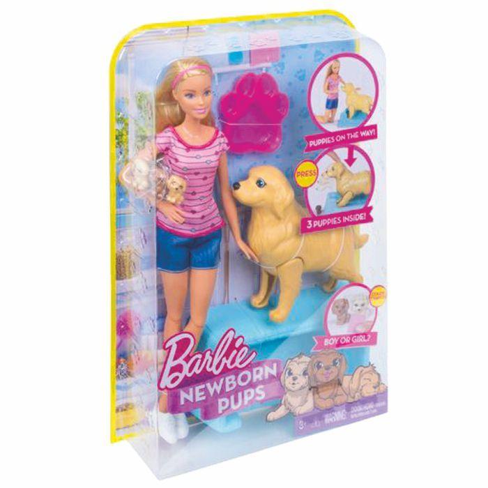 Barbie Filhotinhos Recém-nascidos FBN17 Mattel