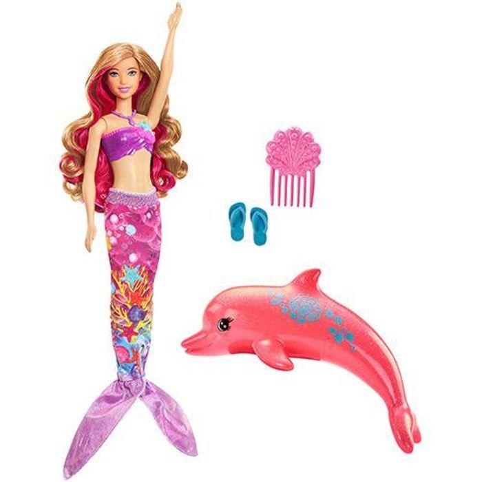 Barbie Filme Sereia Transformacao Magica FMP58 Mattel