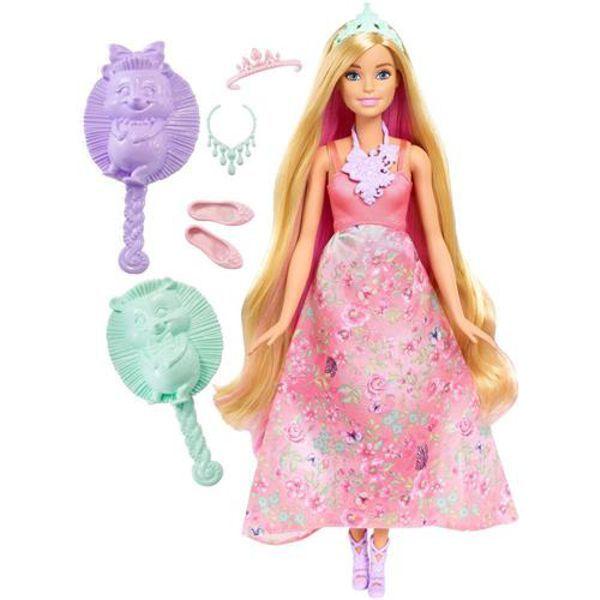Barbie Princesa Cabelos Coloridos DWH42 Mattel