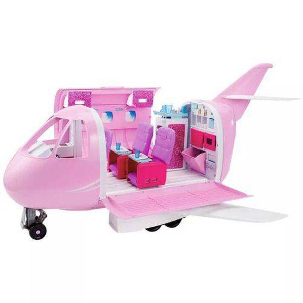 Barbie Real Avião de Luxo - FNF09 - Mattel