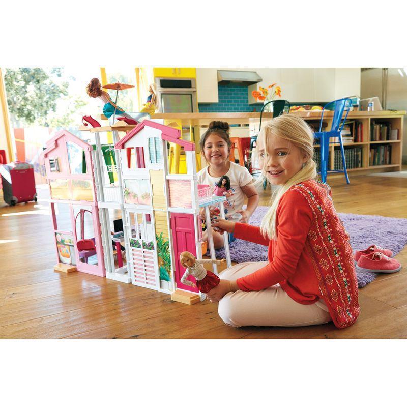 Barbie Real Super Casa 3 Andares DLY32 Mattel