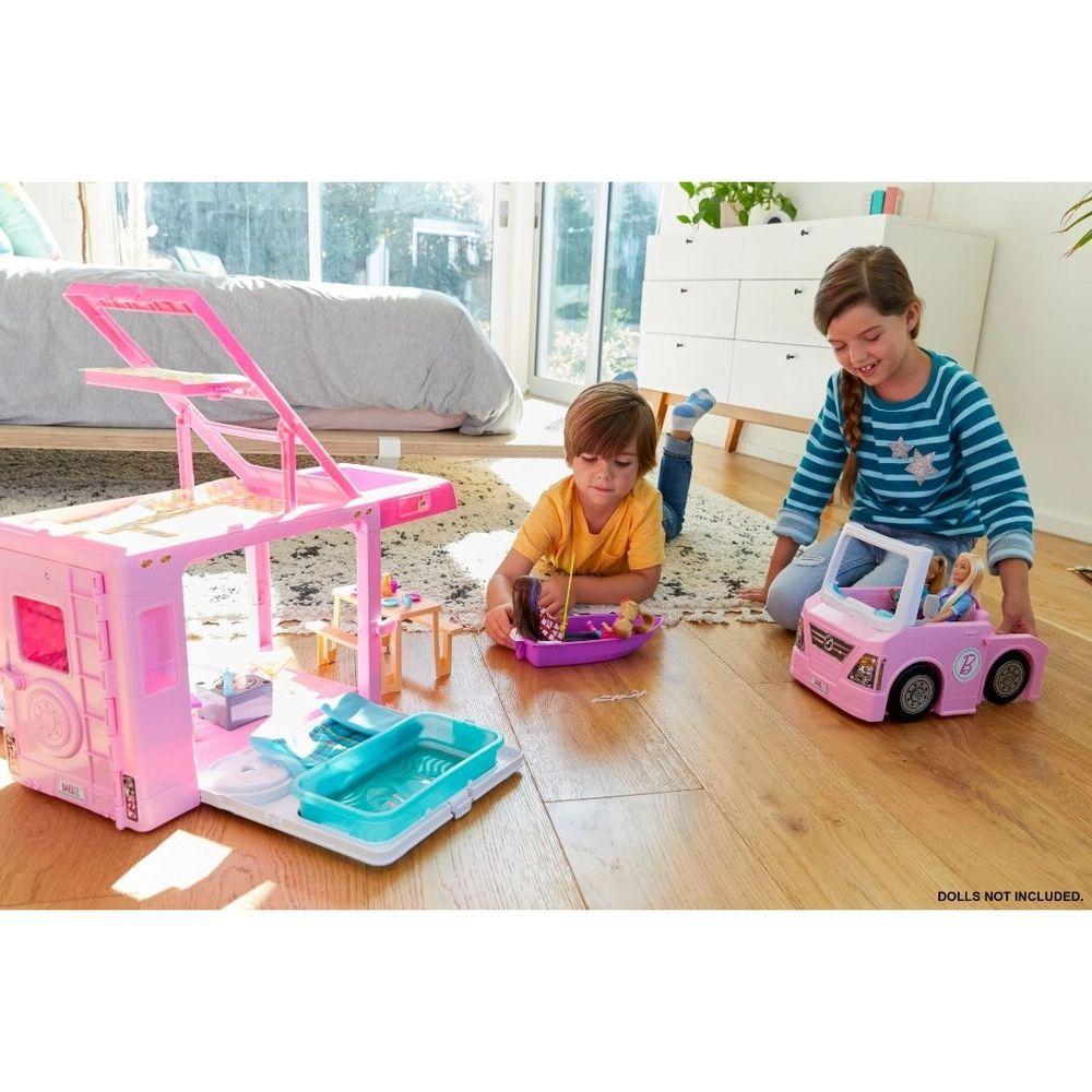 Barbie Trailer Dos Sonhos 3 em 1 GHL93 Mattel