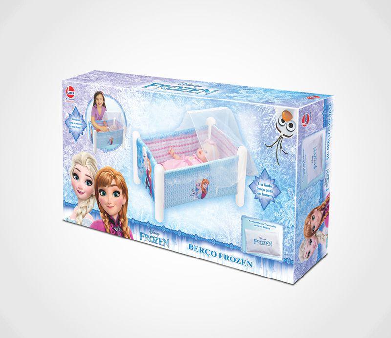 Berço para Boneca Disney Frozen 2371 Lider