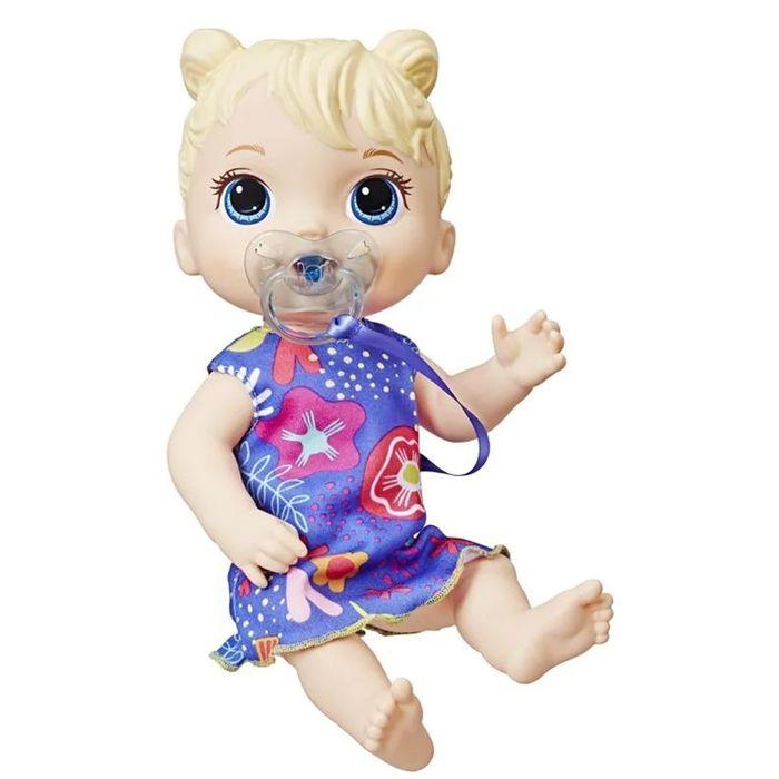 Boneca Baby Alive Bebê Primeiros Sons Loira E3690 Hasbro