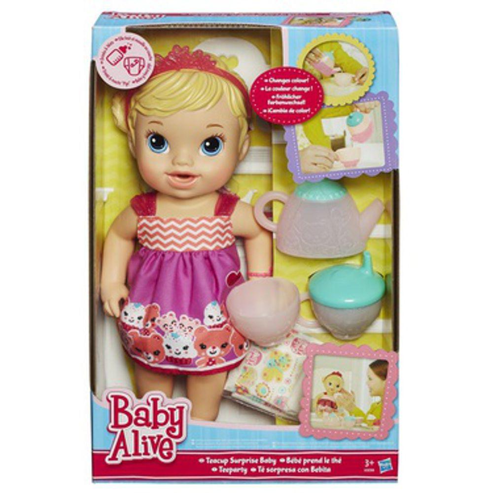 Baby Alive Chazinho Magico Loira A9288 Hasbro