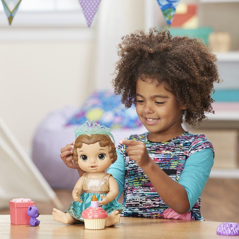 Boneca Baby Alive Festa Surpresa Morena E0597 Hasbro