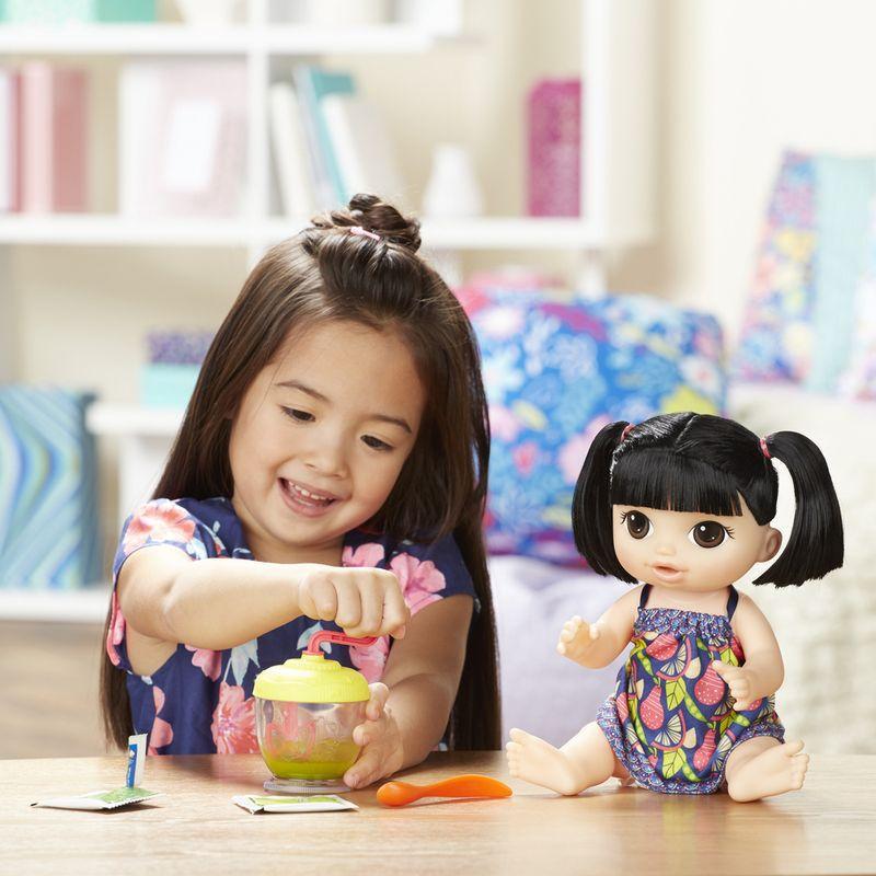 ada1818a08 Boneca Baby Alive - Papinha Divertida Asiática E0633 Hasbro - Brincasa