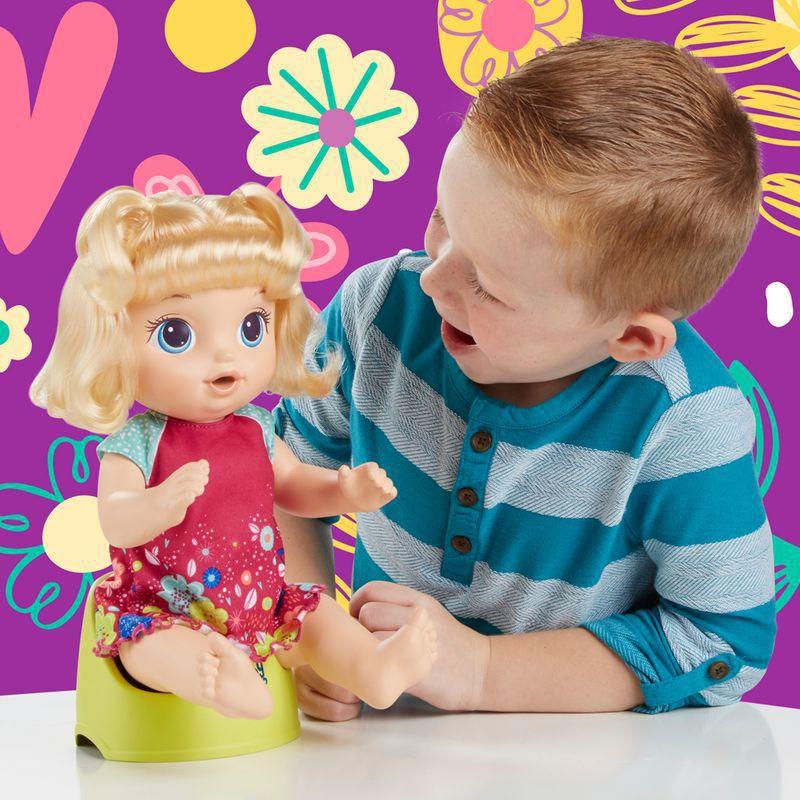 Boneca Baby Alive Primeiro Peniquinho Loira E0609 Hasbro