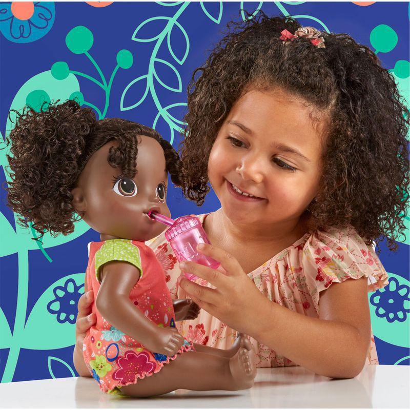 Boneca Baby Alive Primeiro Peniquinho Negra E0304 Hasbro