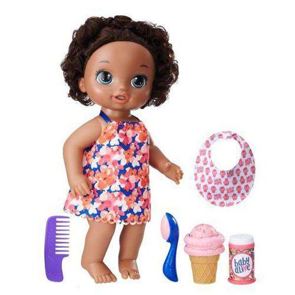 Boneca Baby Alive Sobremesa Mágica Negra C1088 Hasbro