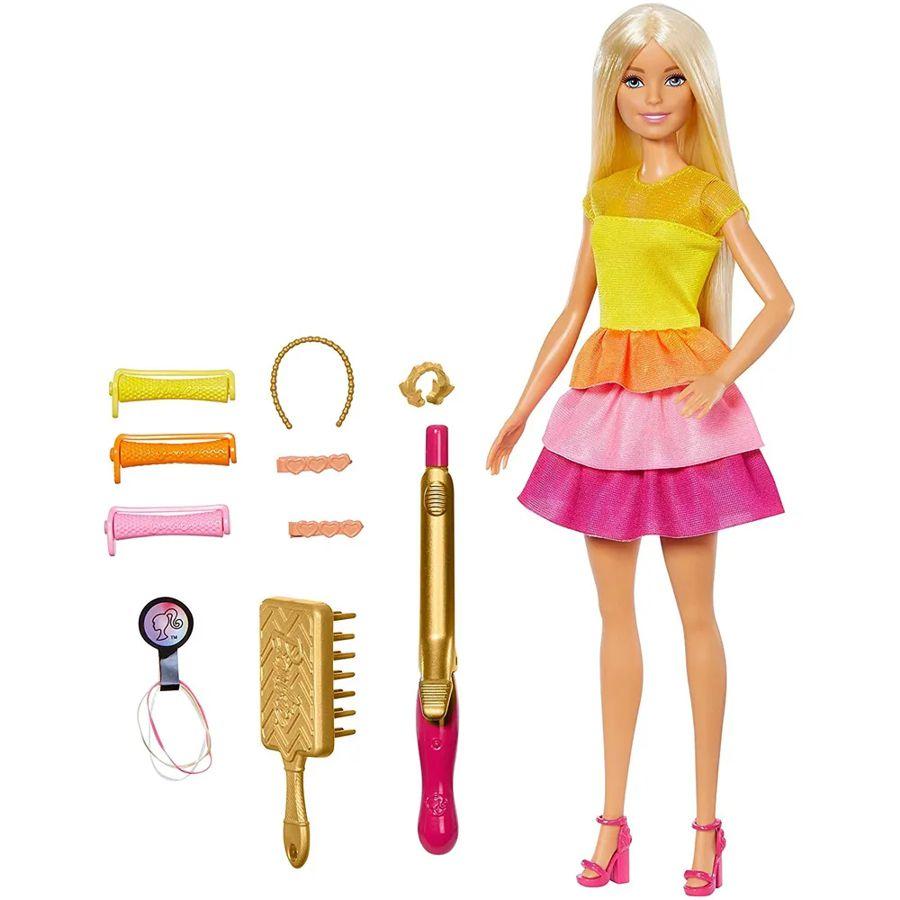 Boneca Barbie Penteados dos Sonhos GBK23 Mattel