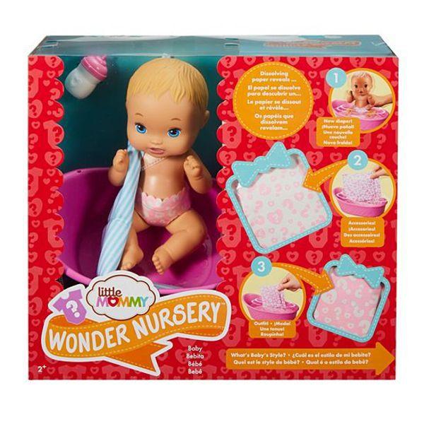 Boneca Little Mommy Bebê Surpresas Mágicas FWJ41 Mattel