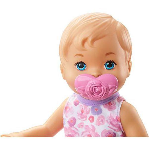 Boneca Little Mommy  Bebê Faz Xixi  Loira FBC88 Mattel