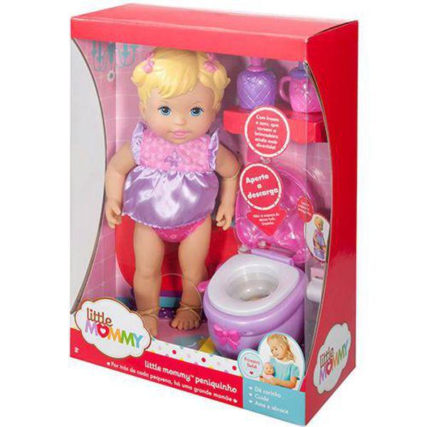Boneca Little Mommy Peniquinho X1519 Mattel