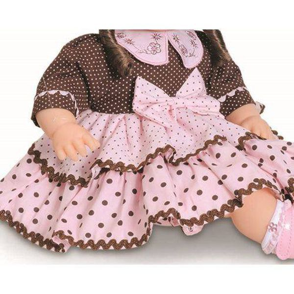 Boneca Tipo Reborn Addara Chocolate 925 Anjo