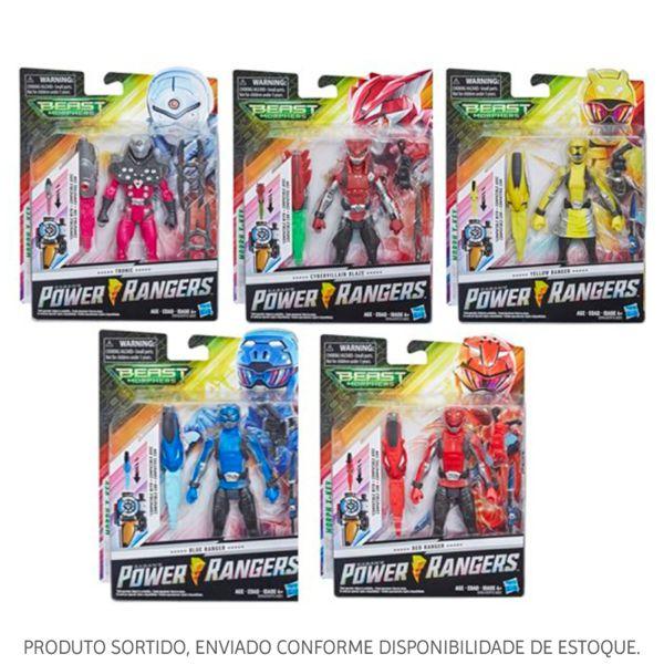 Boneco Figura 6P Basica Power Rangers Sortido E5915 Hasbro