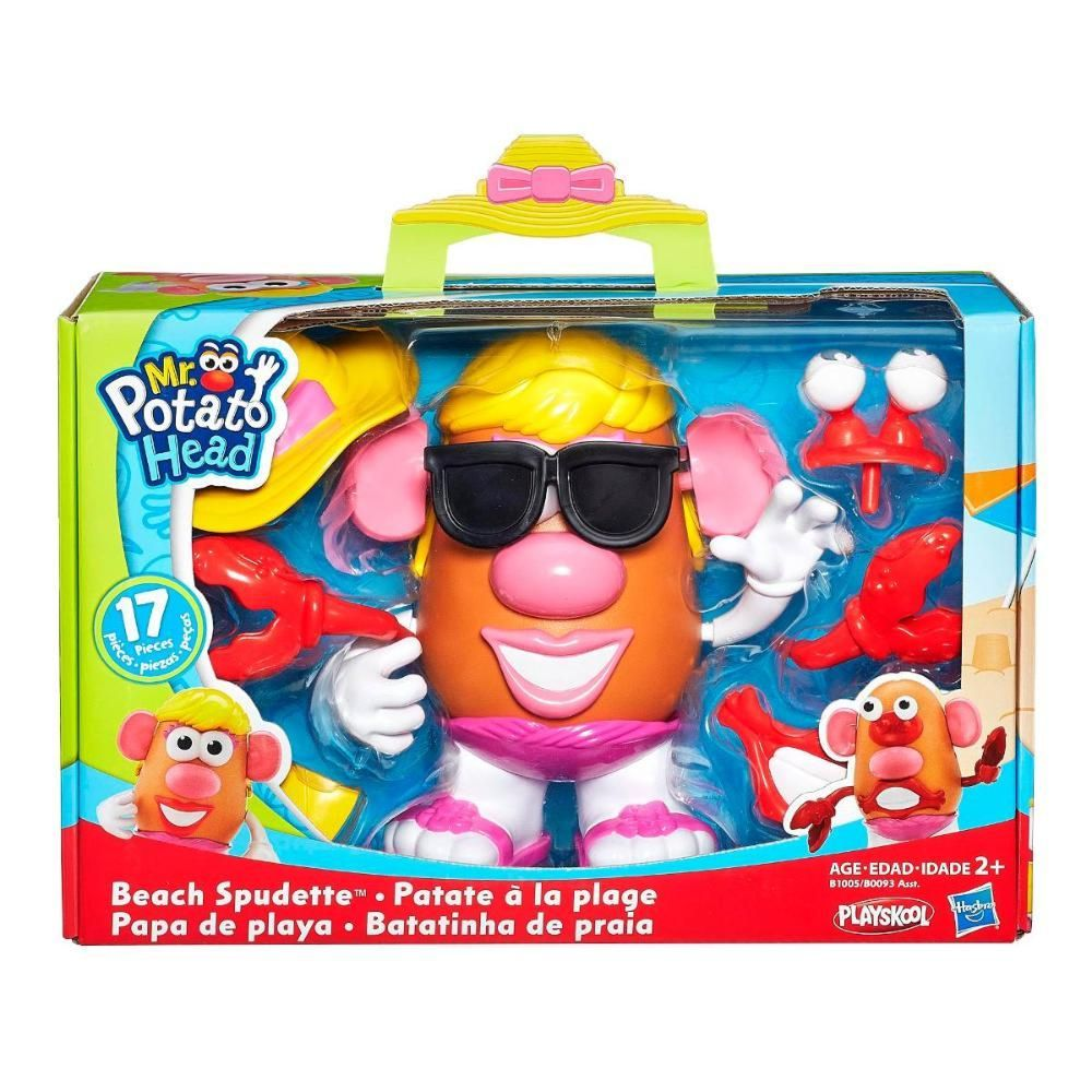Boneco Mrs. Potato Head e o Mr. Potato B0093 Hasbro