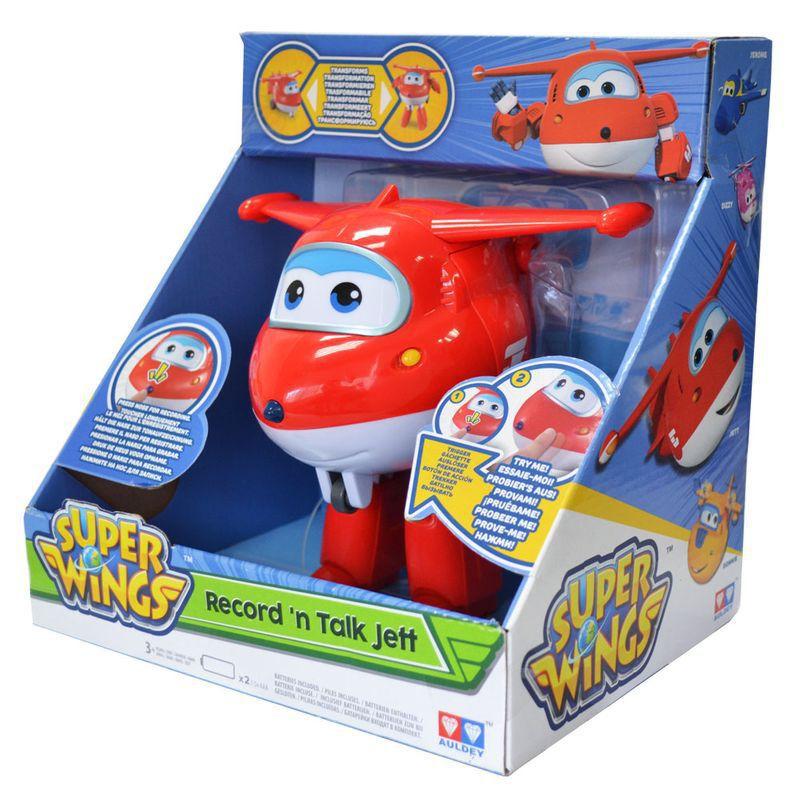 Boneco Super Wings Jett Grava e Fala Ref. 8241-6 Fun