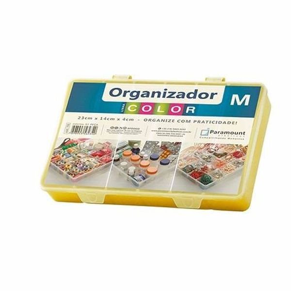 Box Organizador M Color 23x14x4cm Sortido 705 Paramount