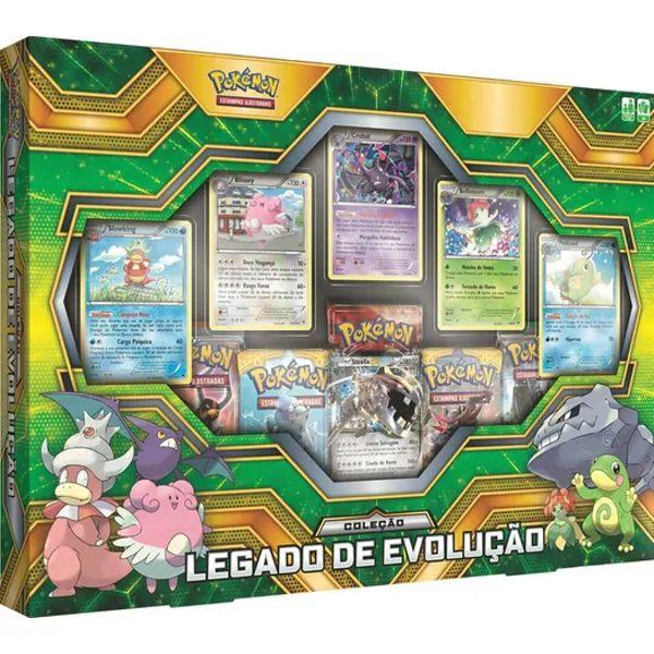 Box Pokémon Legado de Evolução 98440 Copag