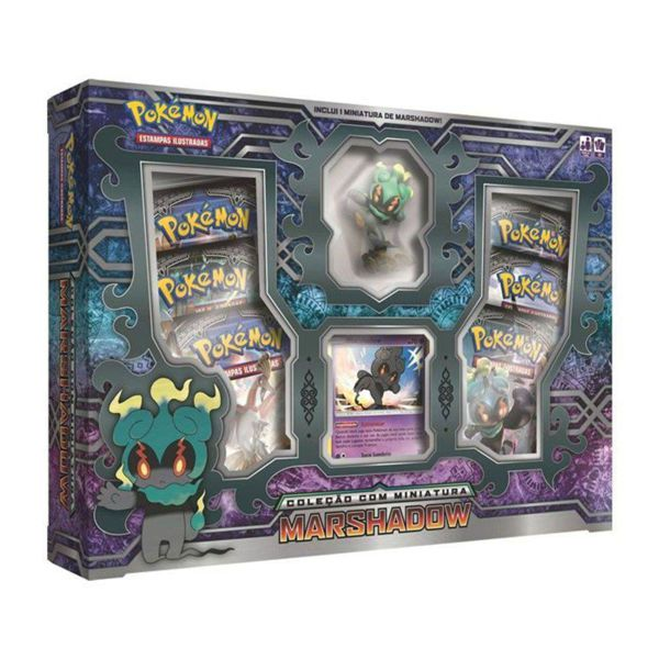 Box Pokémon Marshadow com Miniatura 98489 Copag