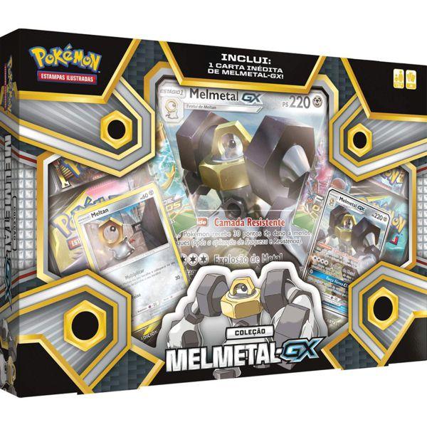Box Pokémon Melmetal GX 93468 Copag