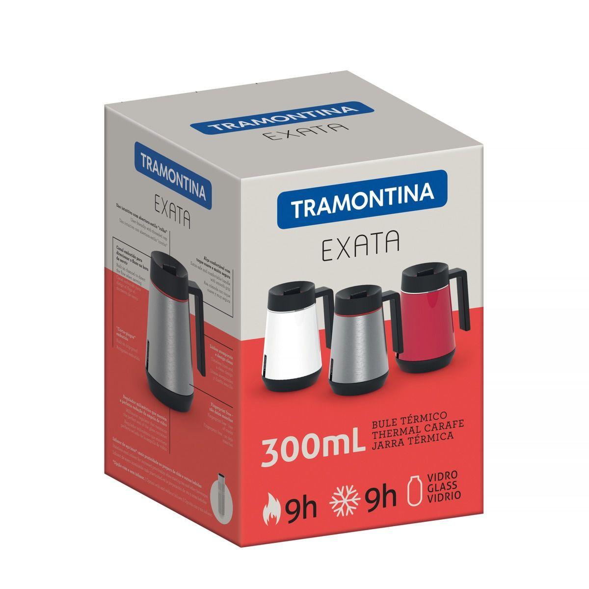 Bule Térmico 300ml Exata sem Infusor VM 61645/036 Tramontina