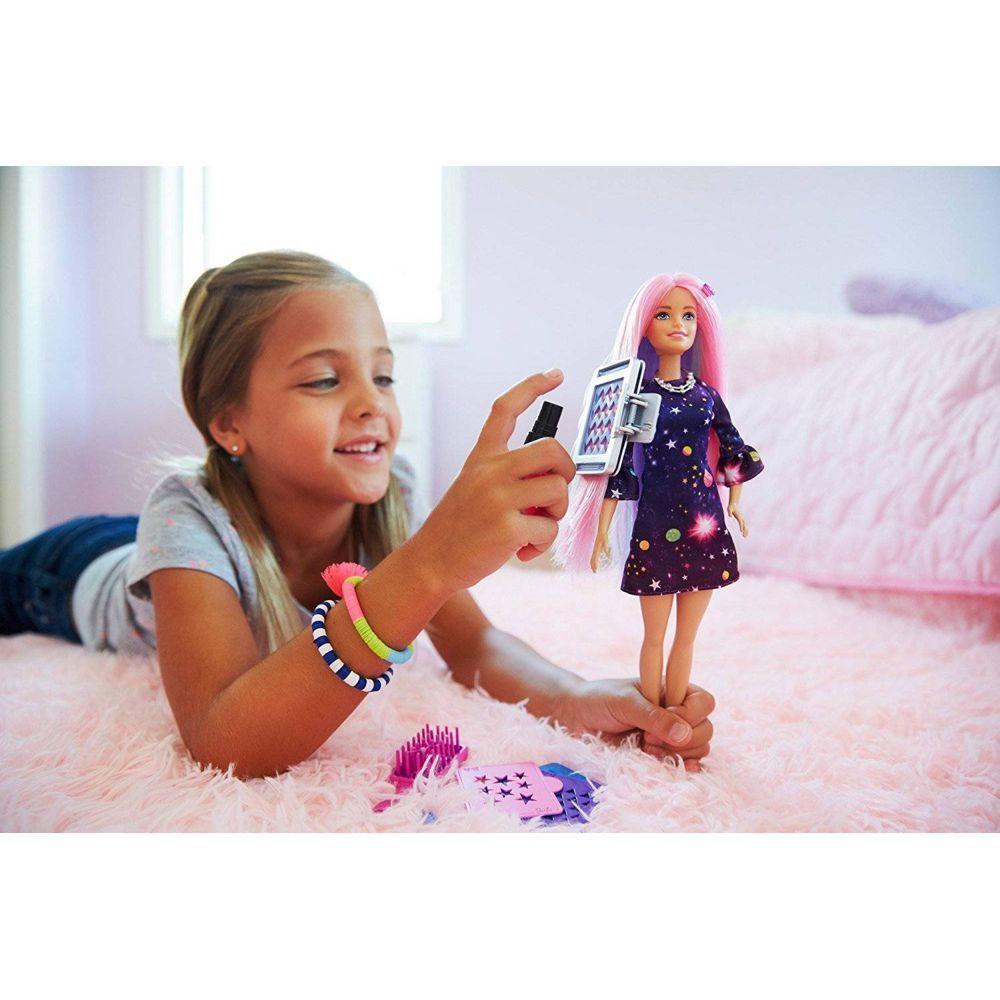 Cabelos Coloridos Barbie FHX00 Mattel