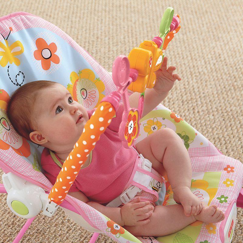 Cadeira de Balanço Fisher Price Minha Infância Crescendo Comigo Meninas Y4544 Mattel