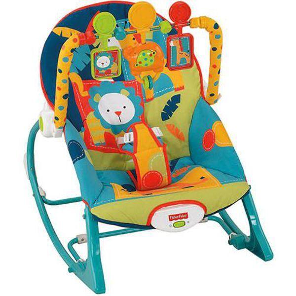 Cadeira de Balanço Minha Infância Elefante X7046 Fisher Price