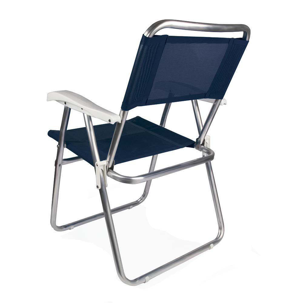 Cadeira Master Alumínio Ref 2102Mor