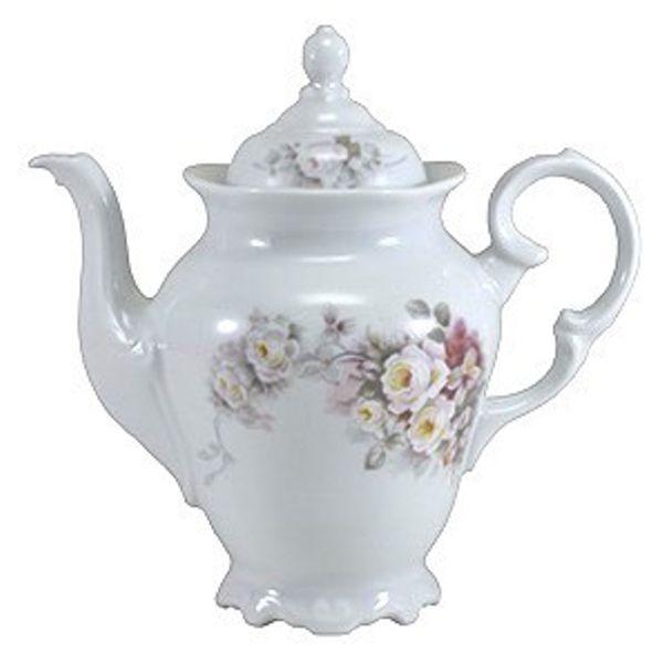 Cafeteira 1,1L Linha Pomerode Eterna Porcelana Schmidt