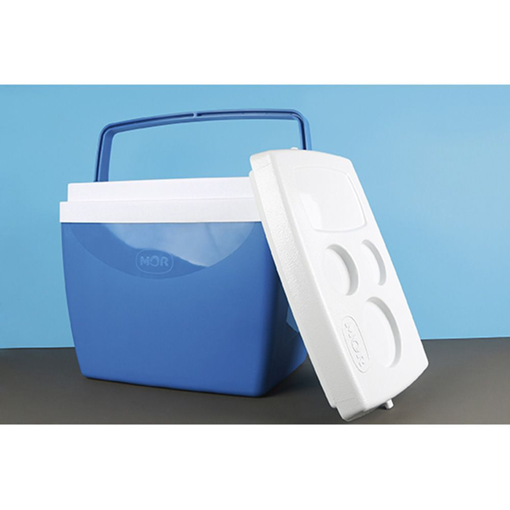 Caixa Térmica 26 Litros Azul Ref 25108171Mor