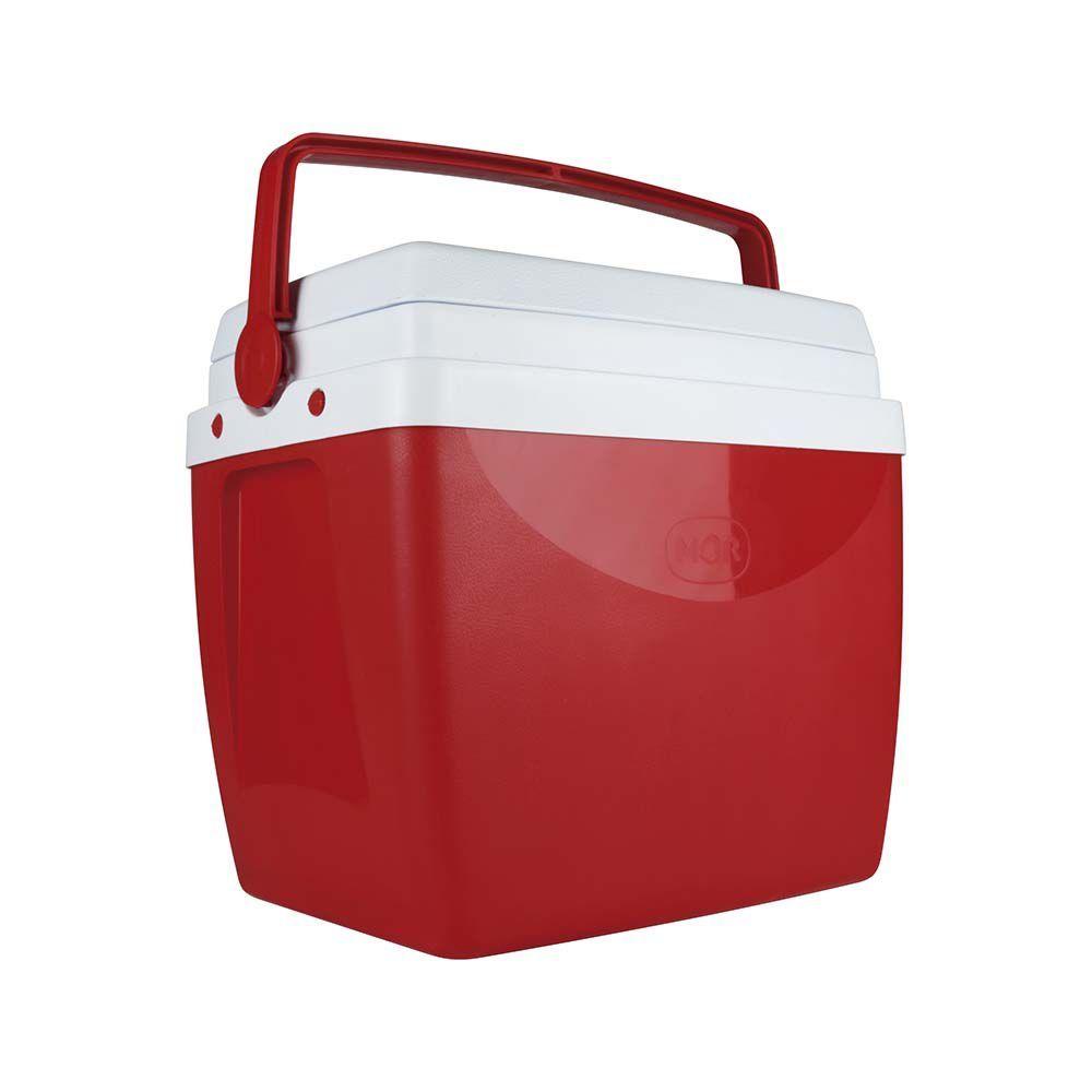 Caixa Térmica 26 Litros Vermelha Ref 25108172Mor