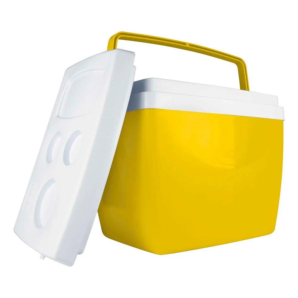 Caixa Térmica 34 Litros Amarela 25108165 Mor