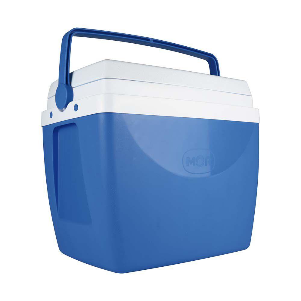 Caixa Térmica 34 Litros Azul Ref 25108161Mor