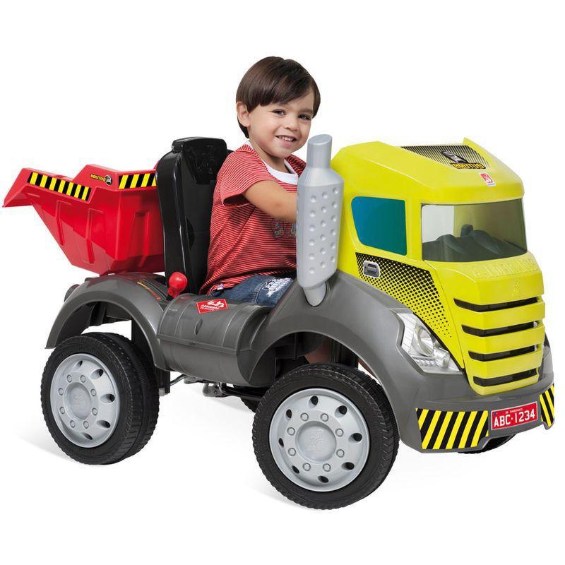 Caminhão Brutus Pedal Com Caçamba 473 Bandeirante
