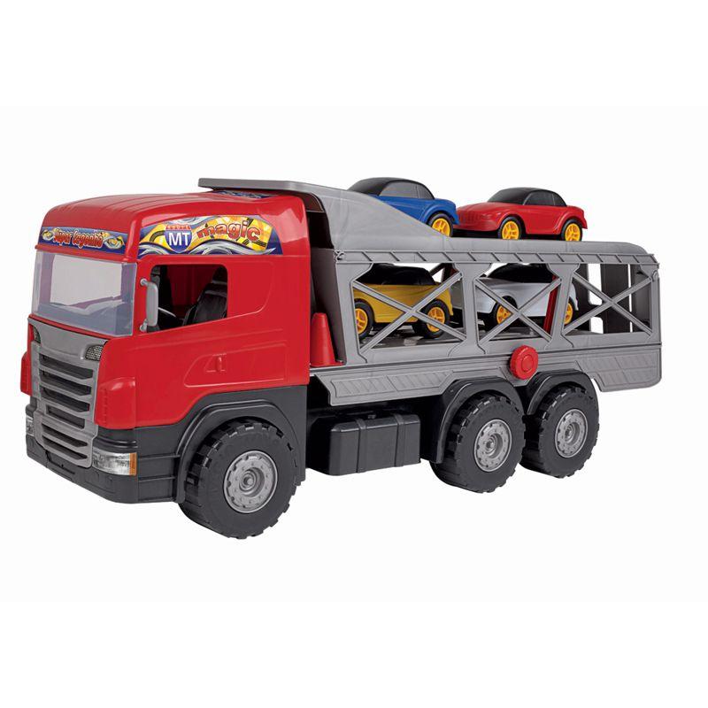 Caminhão Super Cegonha Vermelho 5058 Magic Toys