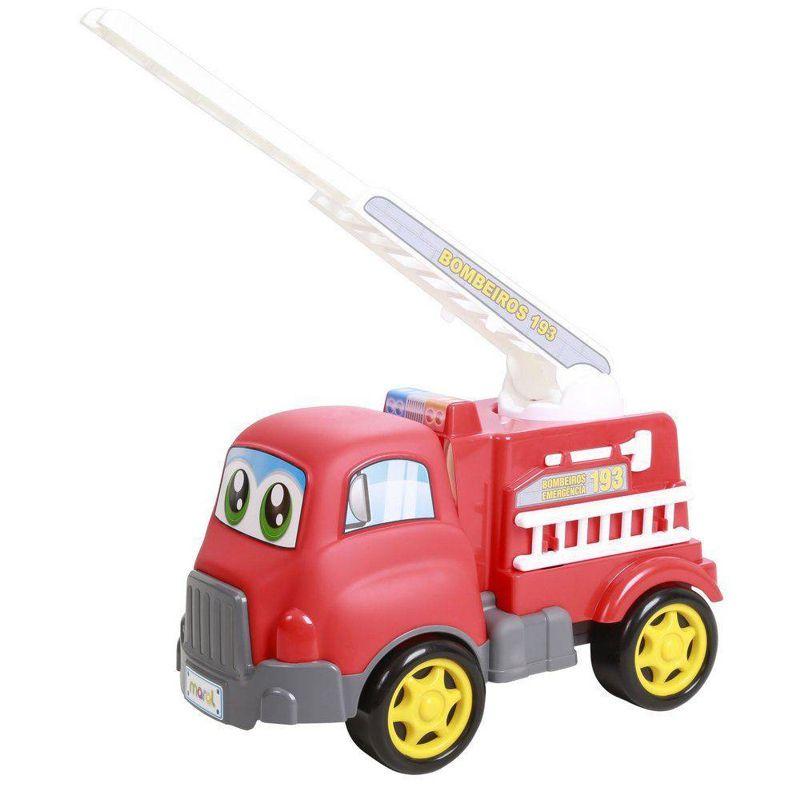 Caminhão Turbo Truck Bombeiros 4134 Maral
