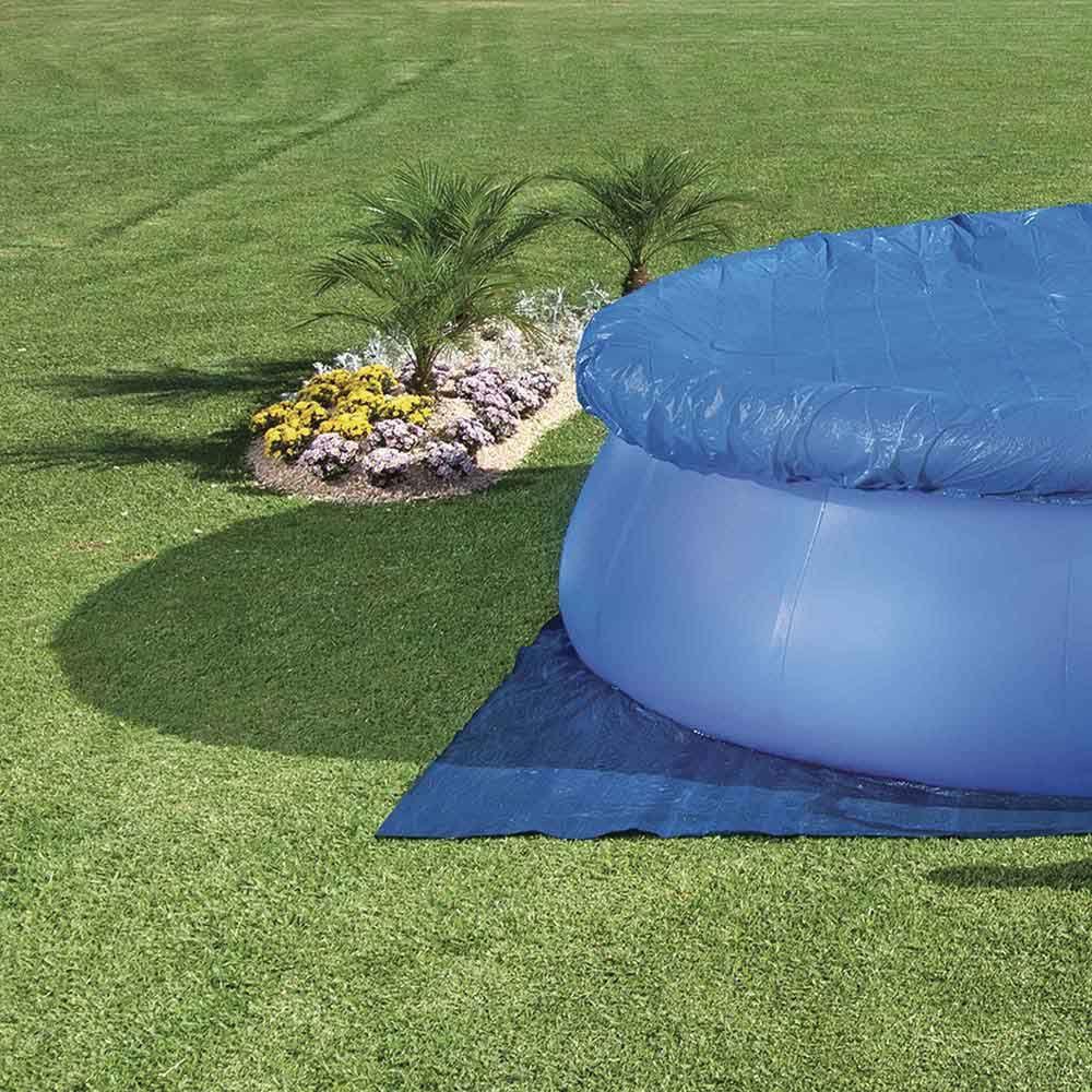 Capa Para Piscina 4600 Litros Azul Ref 1421Mor