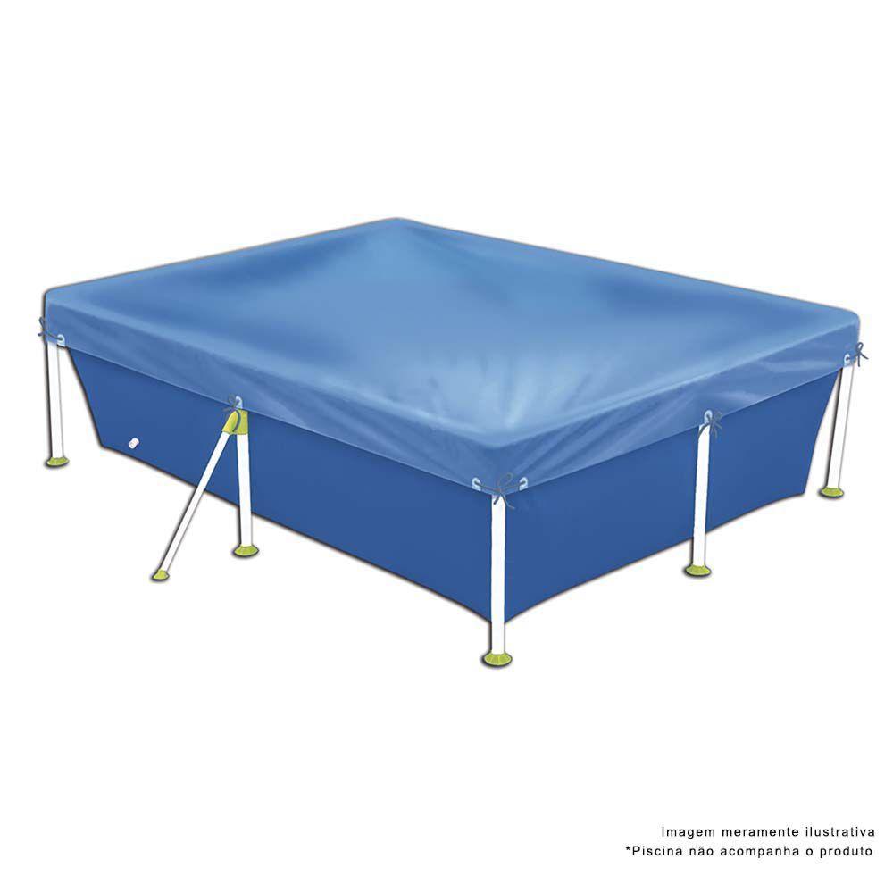 Capa para Piscina 6200 Litros Premium Azul 1415 Mor