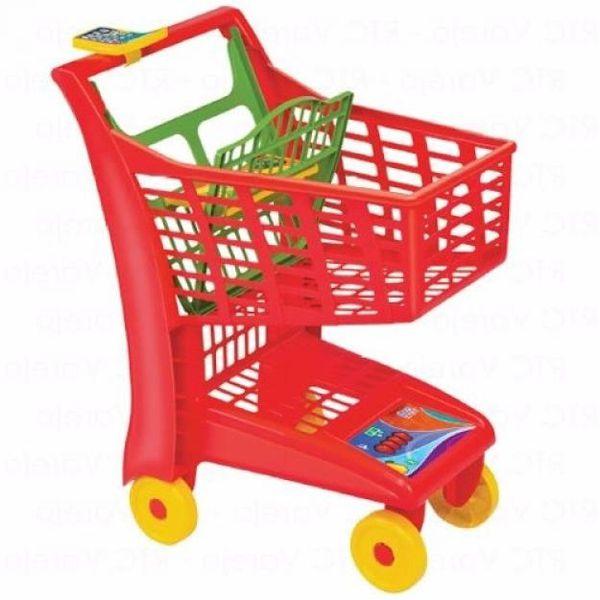 Carrinho de Compras Market Vermelho 872 Magic Toys