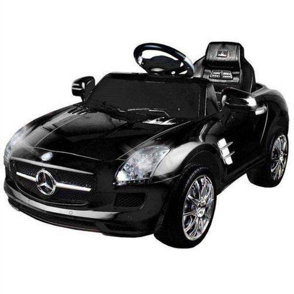 Carro Elétrico 6V Mercedes-Benz Preto 0702.2 Xalingo
