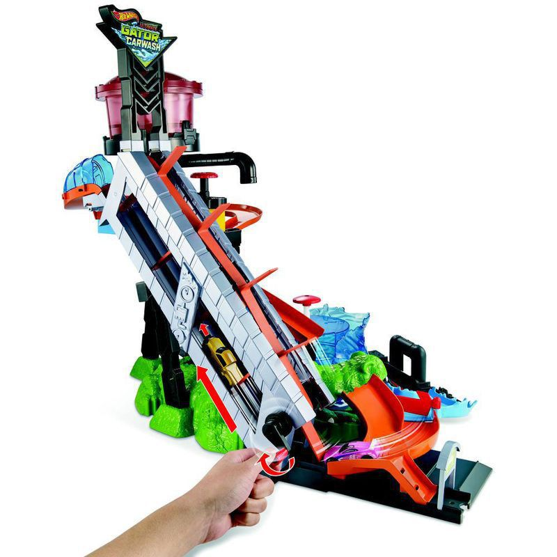 Carrinho Hot Wheels Lava Rapido Ataque Jacaré FTB67 - Mattel