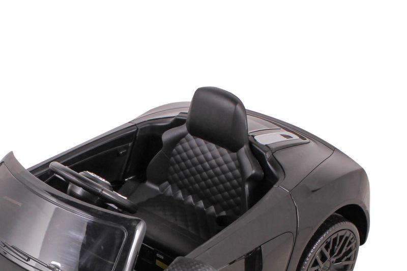 Carro Elétrico Audi R8S Preto Controle Remoto 12V 926400 Belfix