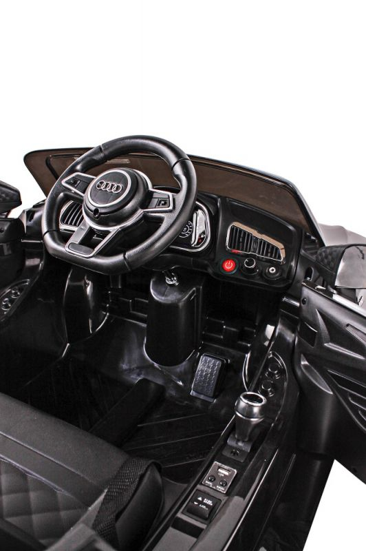 Carro Elétrico Audi R8S Preto 12V 926400 Belfix