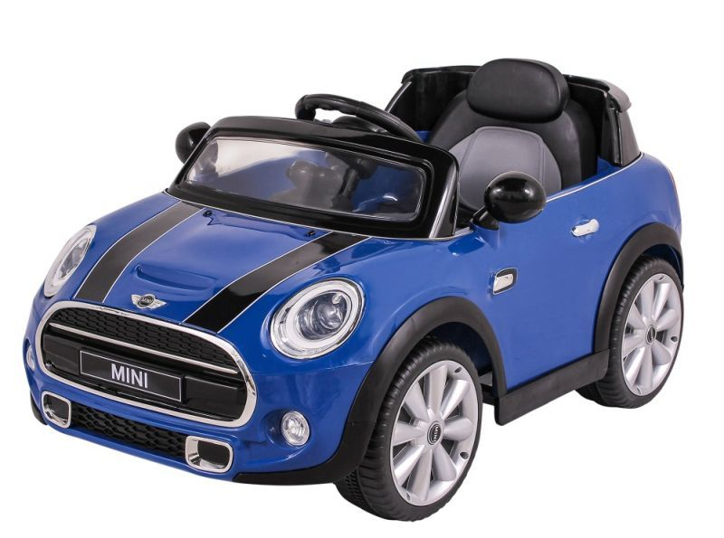 Carro Elétrico 12V Mini Cooper Azul 926600 Belfix