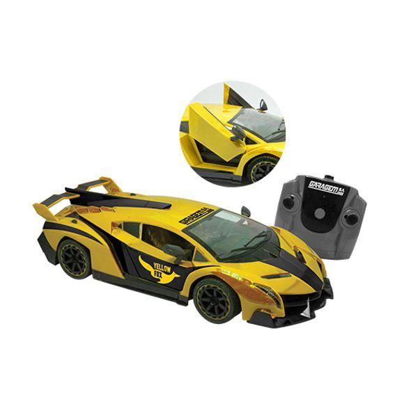 Carro Yellow Fox Rádio Controle 7 Funções Sortido 3542 Candide