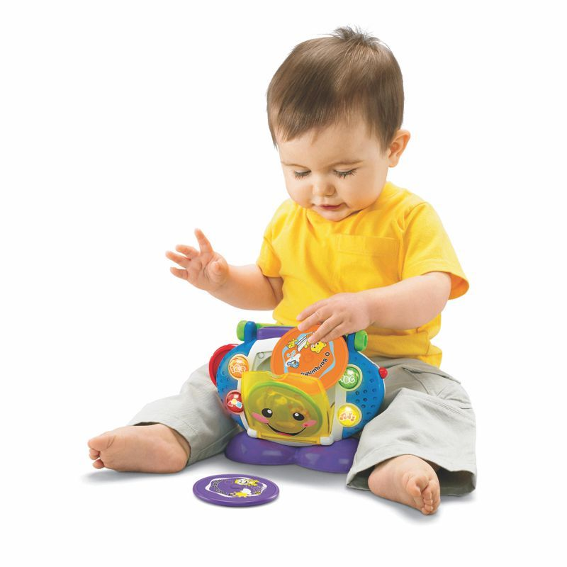 CD Player Aprender e Brincar Fisher Price P5314 Mattel
