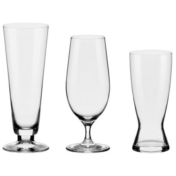 Taça e Copo Cristal Linha Beer House 3 peças Oxford